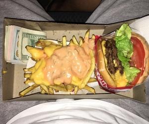 burger, fries, and mula image