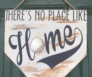 door hanger, etsy, and softball image