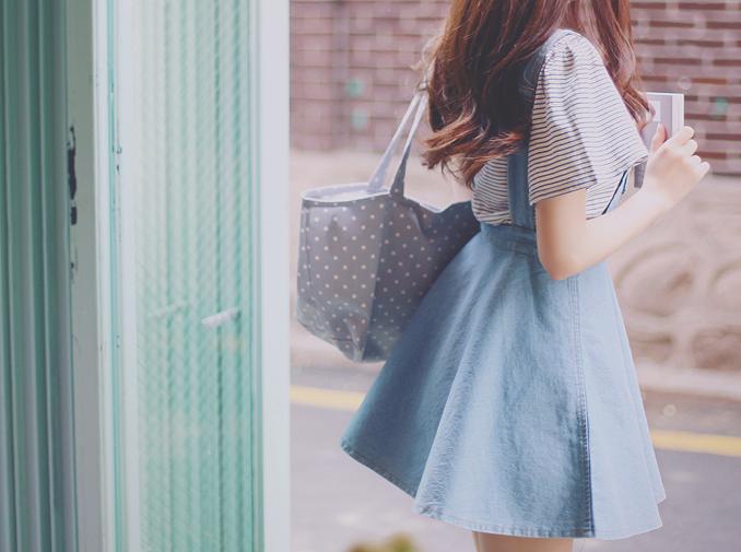 girl, kfashion, and clothes image