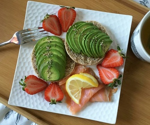 avocado, delicious, and egg image