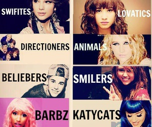 Selena Gomez And Demi Lovato And Miley Cyrus And Taylor Swift And Justin Bieber