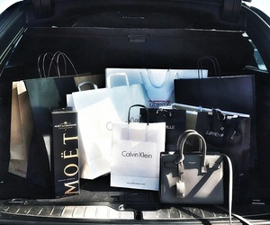 bag, Calvin Klein, and luxury image