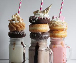 food, milkshake, and chocolate image