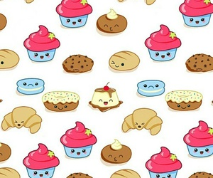cute, biscuit, and donut image
