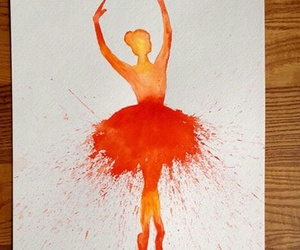 ballet, colour, and dancing image