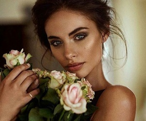 beauty, roses, and natural image