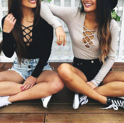 boobies, clothes, and hair image