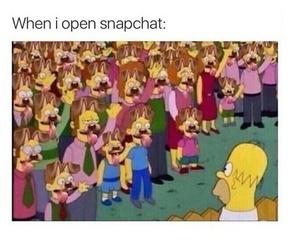 snapchat, funny, and lol image