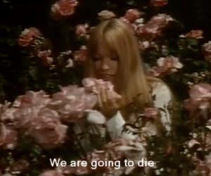 die and flowers image