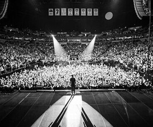 b&w, concert, and the best image