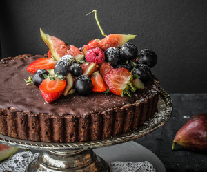 chocolate, sweet, and tart image