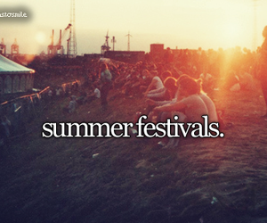 summer, festival, and music image