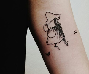 tattoo, snufkin, and moomins image
