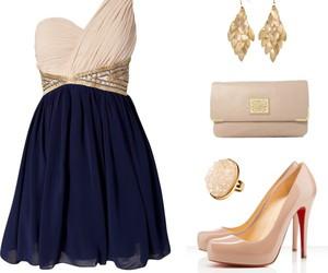 dress, louboutin, and cute image