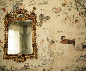 mirror, vintage, and pretty image