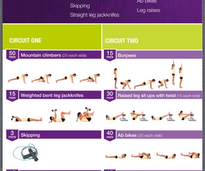 bbg, fitness, and workout image