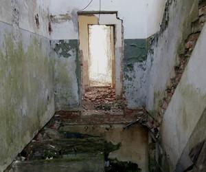 abandoned, abandoned house, and art image