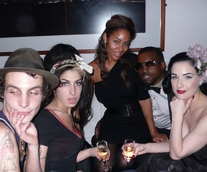 Amy Winehouse, Dita von Teese, and kanye west image