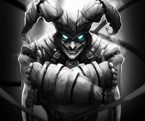 lol, league of legends, and shaco image