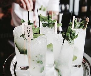 drink, food, and mojito image