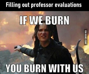katniss, funny, and school image