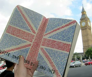 london, book, and Big Ben image