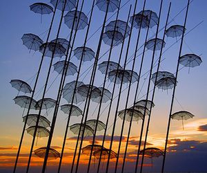 thessaloniki, Greece, and umbrella image