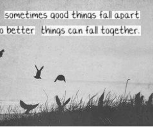 good things and quote image