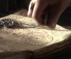 book, old, and secret circle image