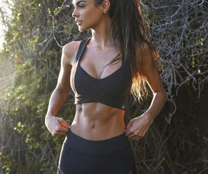 fitness, abs, and body image