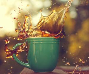 photography, tea, and coffee image