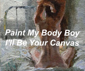 art, naked, and romantic image
