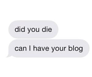 blog, tumblr, and text image