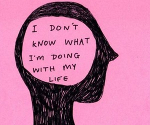 pink, life, and quotes image