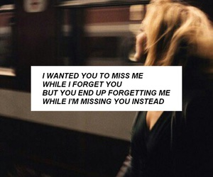 miss you and quote image