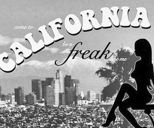 freak, california, and lana del rey image