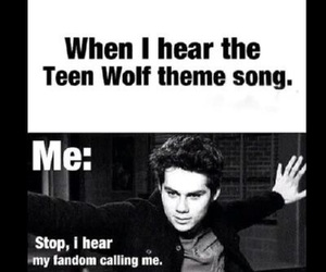 teen wolf, dylan o'brien, and fandom image