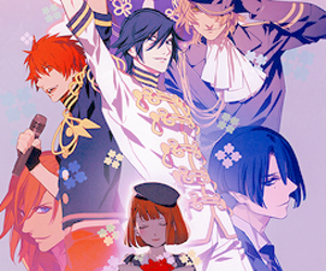 anime, art, and utapri image