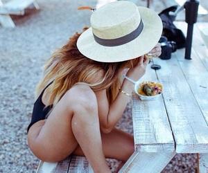 summer, girl, and hawaii image