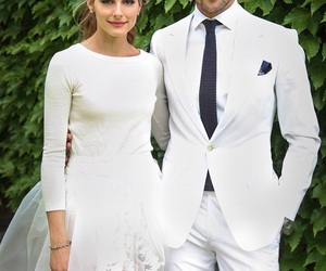 olivia palermo, wedding, and couple image