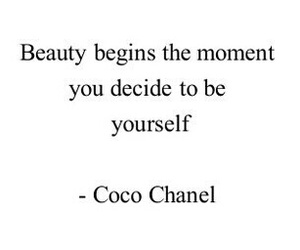 beauty, quote, and chanel image
