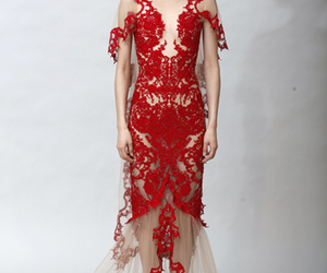 designer, dress, and Marchesa image