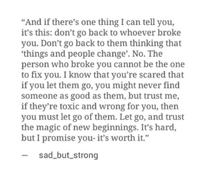 beginning, broken, and hard image