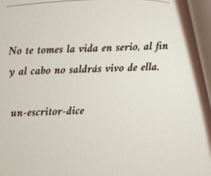 books, quote, and frases en español image