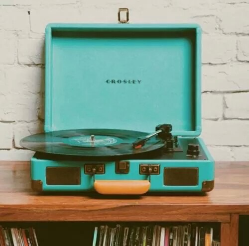 music, vintage, and blue image
