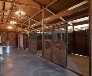 barn, horse, and stall image