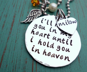 etsy, miscarriage, and cross necklace image