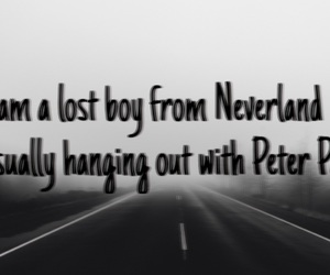 neverland, peter pan, and song image