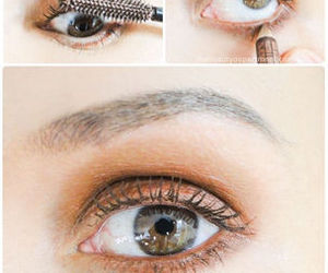make up, makeup, and makeup tutorial image