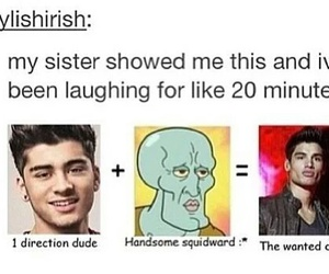 zayn malik, funny, and one direction image